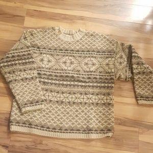 Vintage Abercrombie Big Sweatshirt 100% Wool
